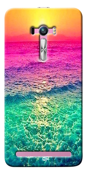 Digiprints Sunset Printed Designer Back Case Cover For Asus Zenfone Selfie ZD551KL