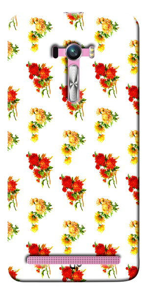 Digiprints flower background Printed Designer Back Case Cover For Asus Zenfone Selfie ZD551KL