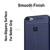 Digiprints TPU Flexible Auto Focus Shock Proof Back Cover For Vivo V7-Blue