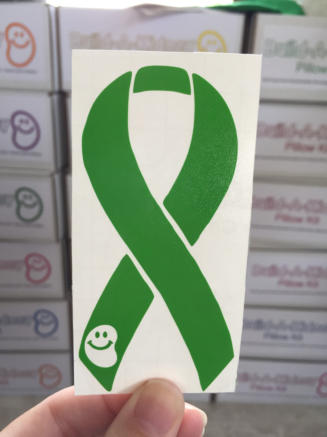 Silly Kidney Awareness Ribbon Decals