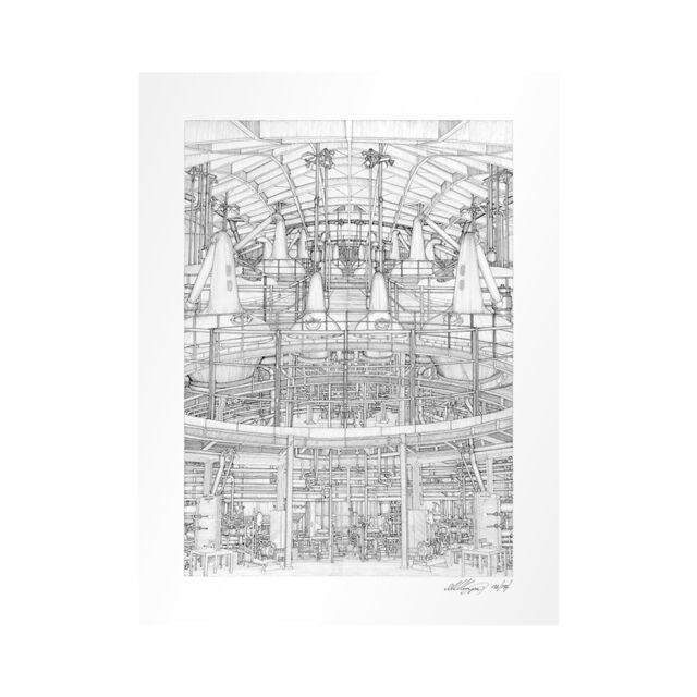 The Macallan Distillery Print - Stillhouse I
