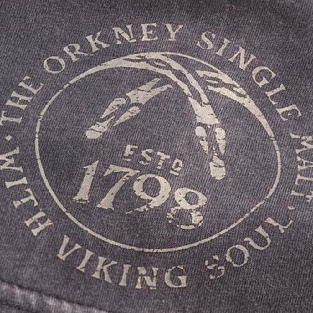 CASK STENCIL LONG SLEEVE CLOSE UP OF DESIGN