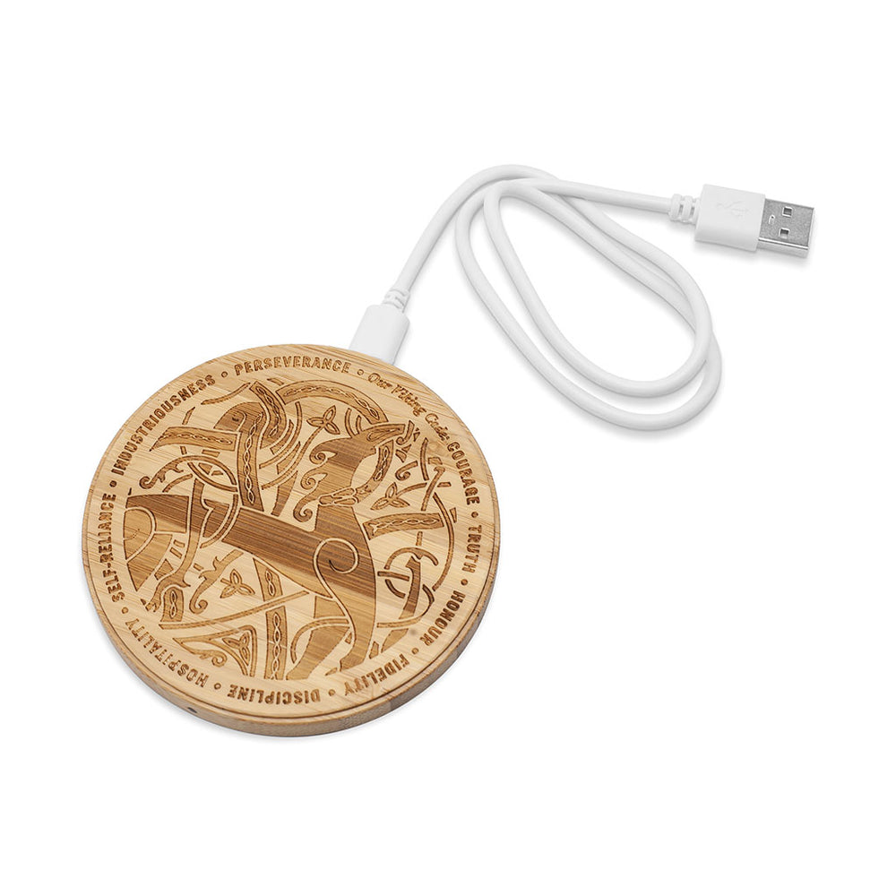 LION & SERPENT MOBILE CHARGING MAT