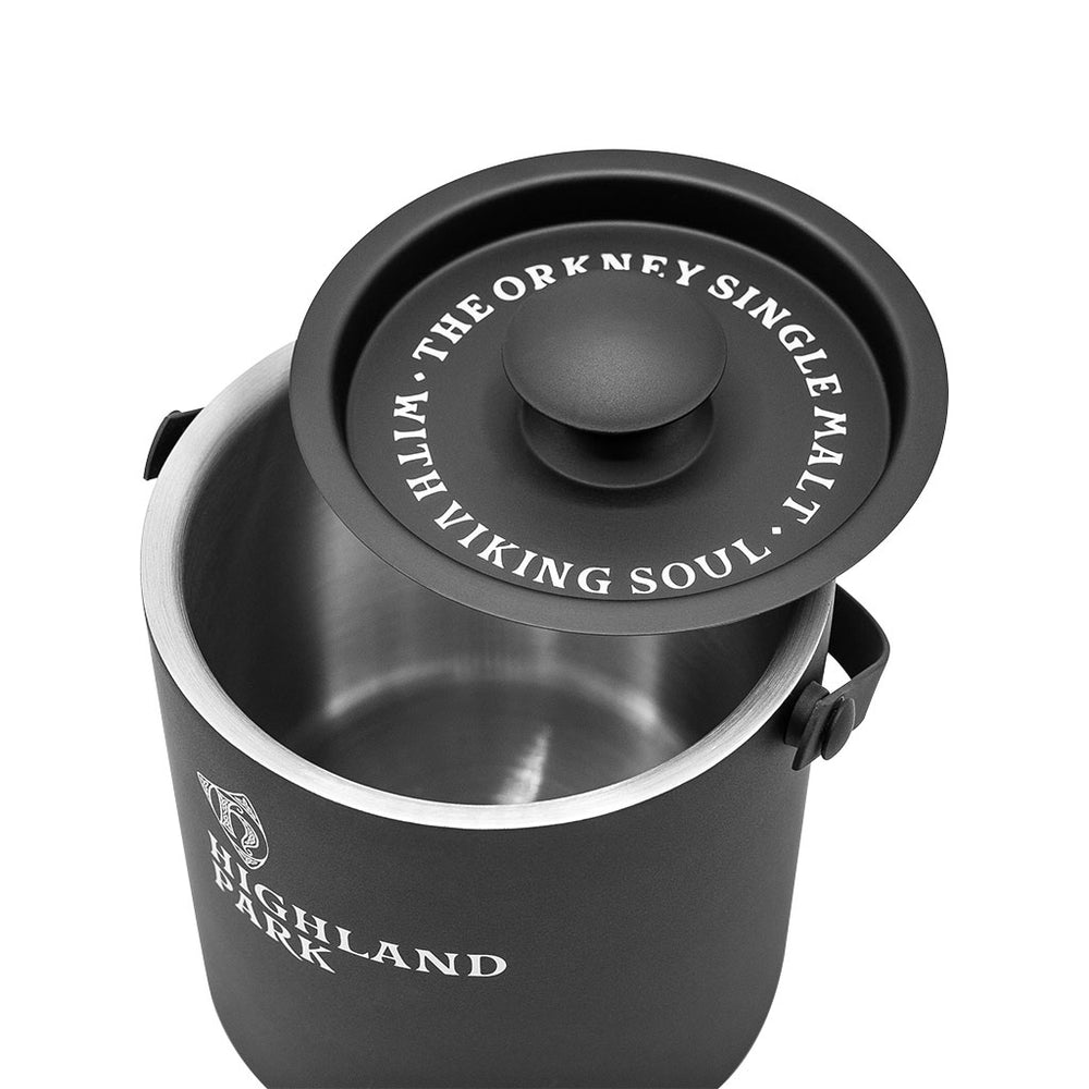 Highland Park Whisky Stainless Steel Ice Bucket