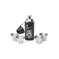 Highland Park Hunters Flask and accessories