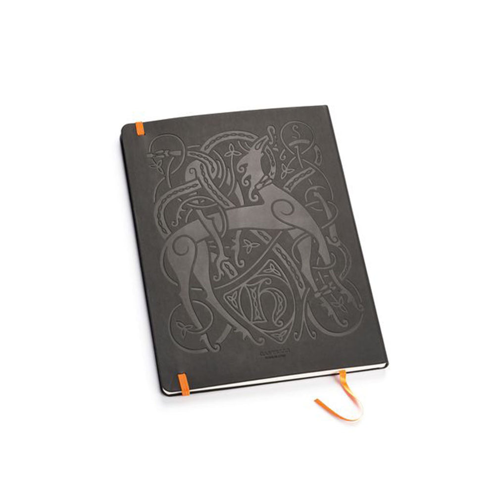 Lion & Serpent Notebook from rear