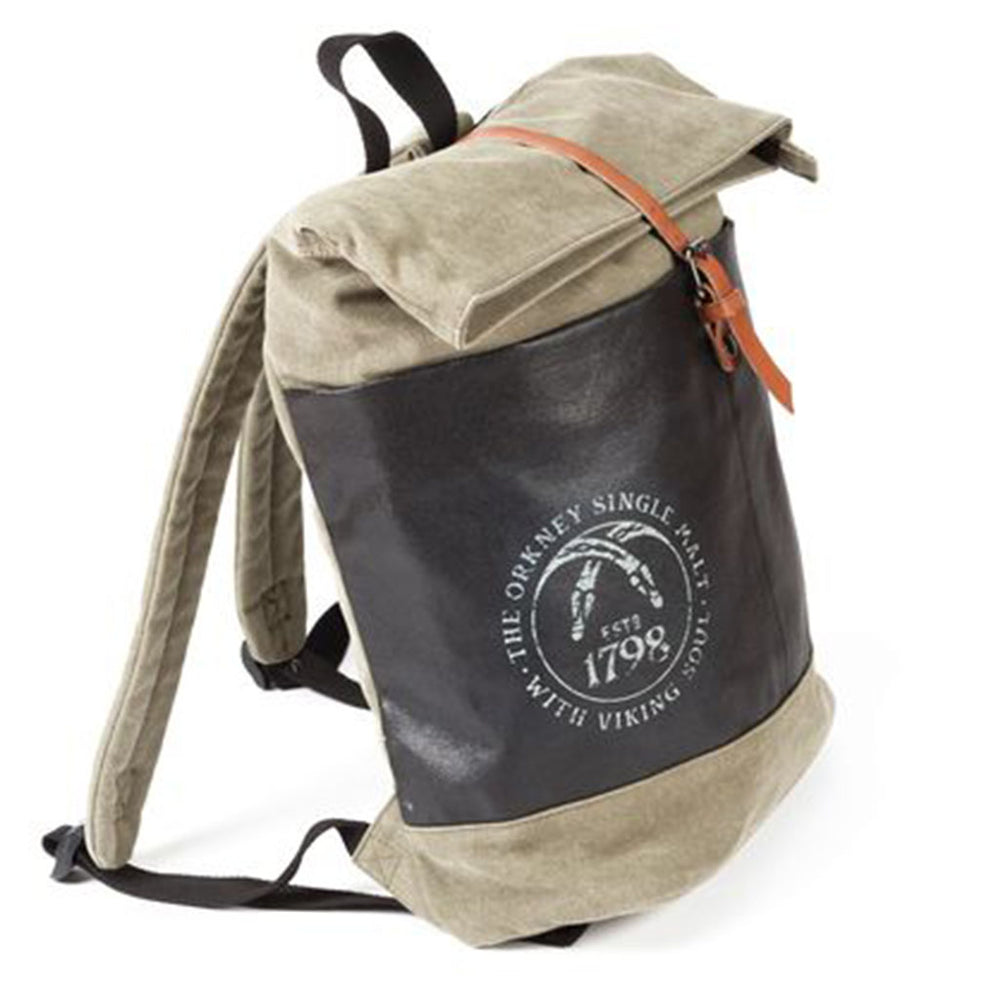 Highland Park Serpent Head Backpack from sideview