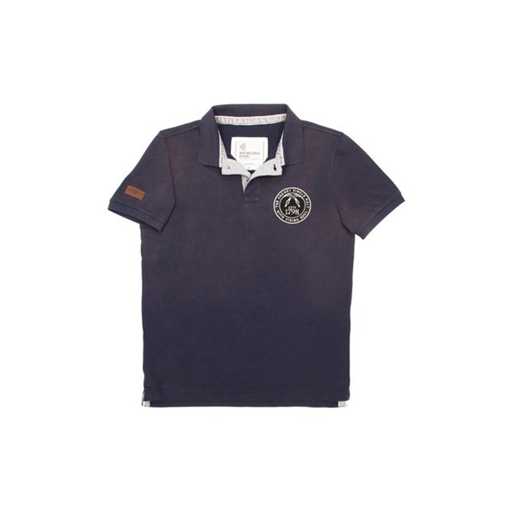 Highland Park Serpent Head Polo Shirt from front