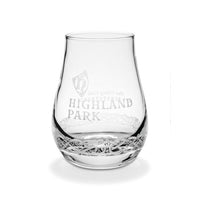 Highland Park Viking Code Shot Glass from Front