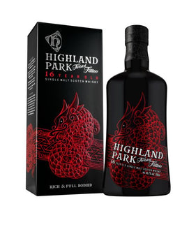 Twisted Tattoo 16 Year Old Highland Park Orkney Single Malt Scotch Whisky