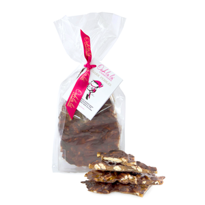 Pecan Pebbles® in Dark Chocolate 100g