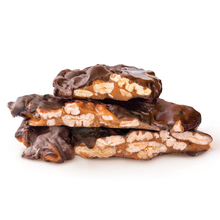 Pecan Pebbles in dark chocolate 150g