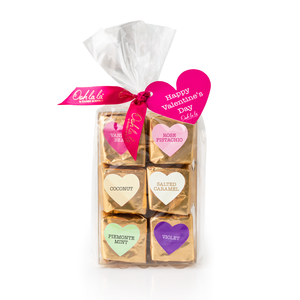 Valentine's Day Assorted Marshmallows in Milk Chocolate 6pc
