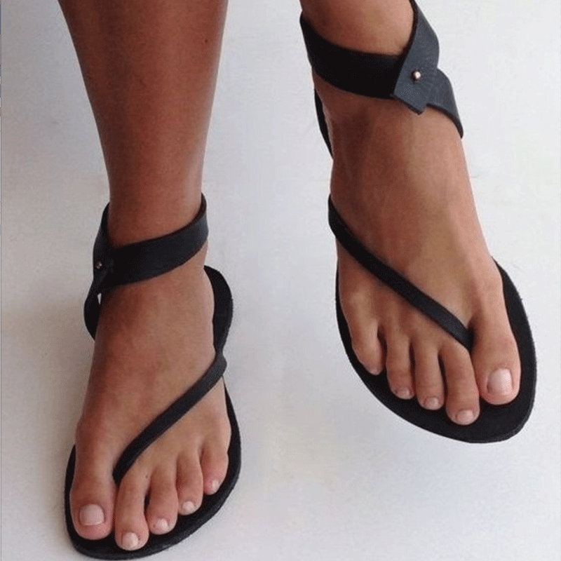 ccce7bbe5b0d65 Department Name  Adult Item Type  Sandals Pattern Type  Solid Occasion   Casual Heel Height  Flat (≤1cm) Style  Fashion Sandal Type  Basic Lining  Material  ...
