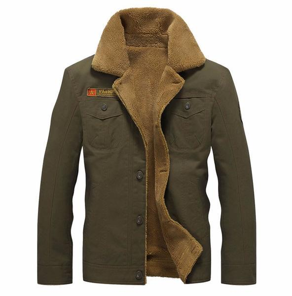 New Autumn Winter Warm Men's Tactical Jacket