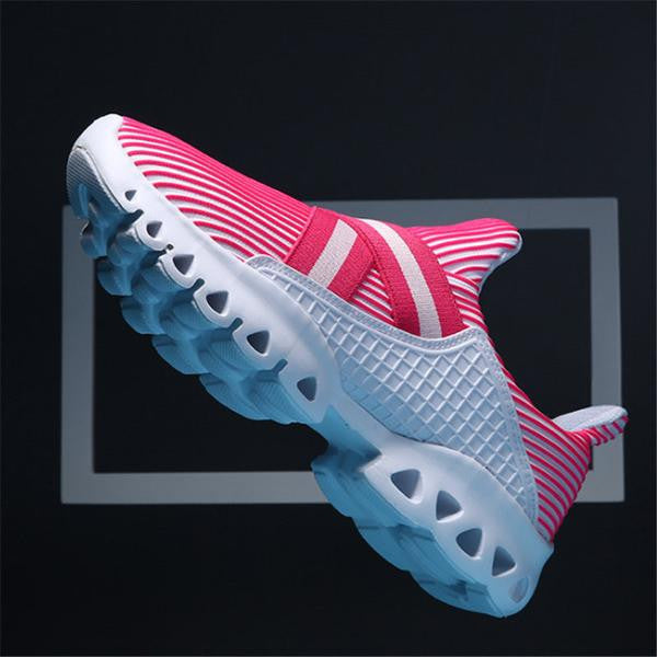 Women's Shoes-Lovers Breathable Jogging Walking Athletic Shoes