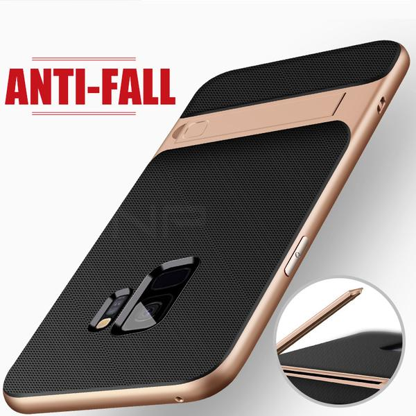 Luxury Ultra Thin PC + TPU Shock Proof Kickstand Cover For Samsung (BUY 2 GET 15% OFF)