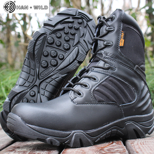 High quality Autumn Winter Military Tactical Boots