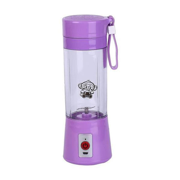 Bottle - Portable 380ml USB Rechargeable Juicer Water Bottle