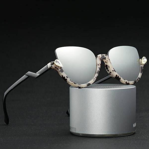 0bfca9f2c4c Sunglasses - Vintage Half Frame Sexy Cat Eye Sunglasses – Feature Mall