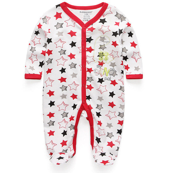 9f205d7fd09b NewBorn Baby Romper Clothes Long Sleeve Infant Product – Feature Mall