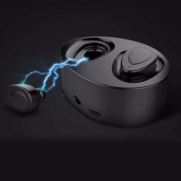 Consumer Electronics - Mini Bluetooth 4.1 Wireless Stereo Earphones With MIC & Charger