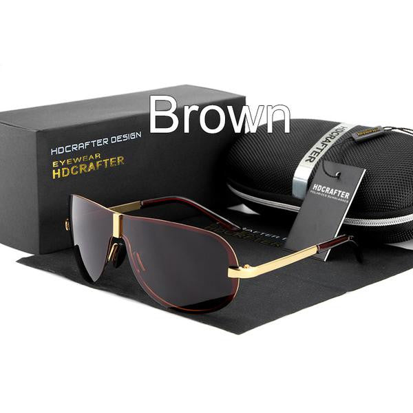 Sunglasses - Fashion Polarized Driving Man Sunglasses