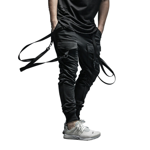 Plus Size Men HIPHOP Joggers Pants