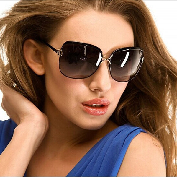 Sunglasses - 2017 Fashion Metal Frame High-Definition Sunglasses