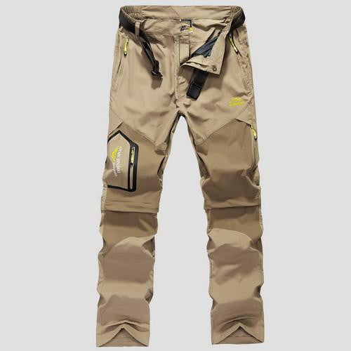 Men's Removable Quick Dry Military Cargo Pants