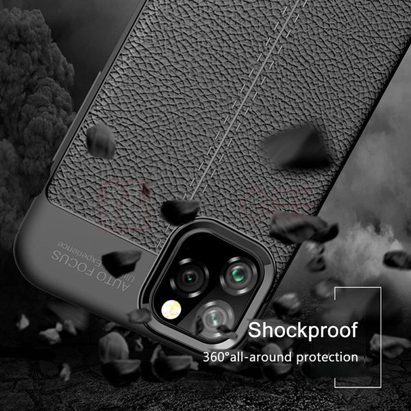 Luxury Bumper Leather Case For Iphone11 11 Pro