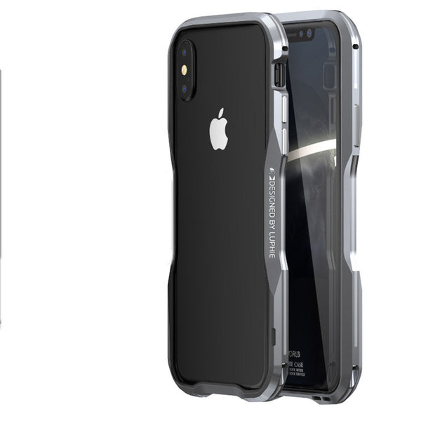 free shipping 75fba 66491 Luxury 360° Protective Bumper Metal Armor Case for iPhone X XS Max XR (Buy  2 Get Extra 15% Off)