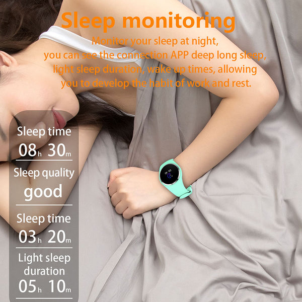 Bluetooth Lady Fashion Heart Rate Monitor Fitness Tracker Smartwatch APP  Support For Android IOS