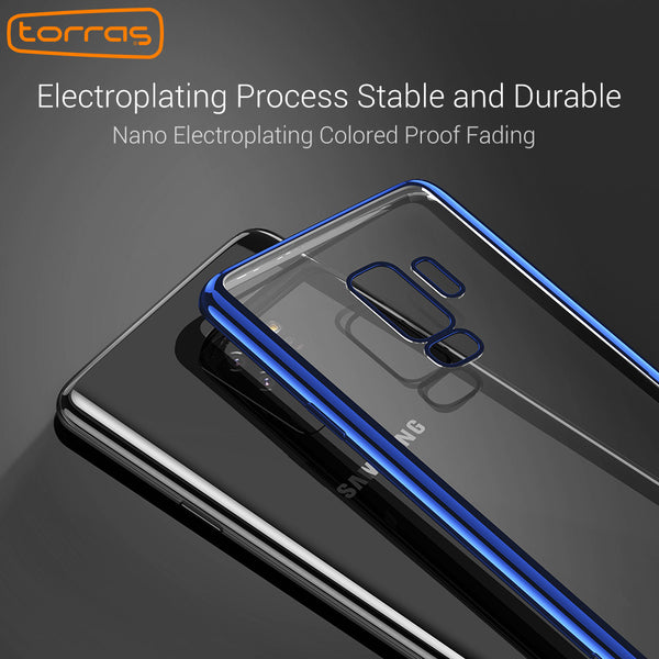 0c6ae8452803 360 Full Cover Cover Shockproof Electroplating Tpu Phone Case For Samsung  Galaxy S9 / S9 Plus