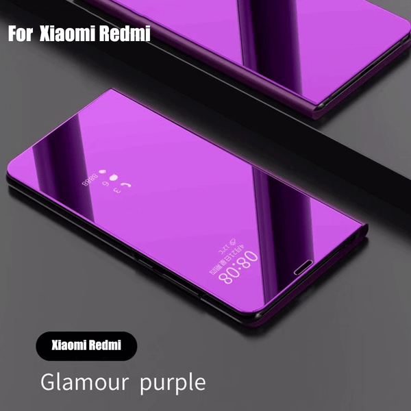 differently a1199 ba519 Clear Smart View Leather Flip Case For Xiaomi 8 SE Redmi Note 5 Pro 4 4X  5A(Buy 2 get 15% Off)