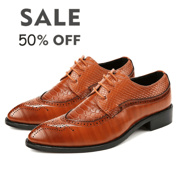 44b7ff7e065 Luxury Men's Pointed Toe Designer Oxfords Shoes Lace Up Leather Dress Shoe