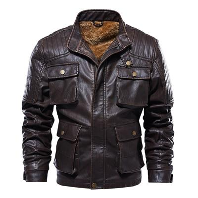 Winter Men's Leather Motorcycle Jackets