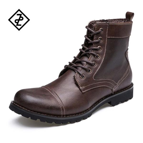 ad2c07d4fb1 Cowboy Style High Quality Classic Soft Leather Ankle Boots