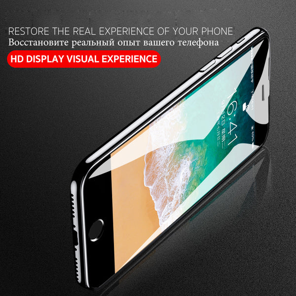 best service 2f7ac 8eb76 10D Tempered Glass For iPhone X 8 7 6s Plus Curved Edge Screen Protector  (Buy 2 Get 15% Off)
