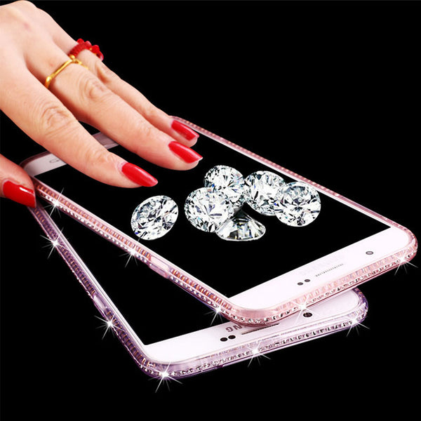 timeless design 373d7 2e953 Glitter Diamond Case For Samsung Galaxy S9 S8 S7 S6 Edge Plus Grand Soft  Shell (Buy 2 Get 15% Off)