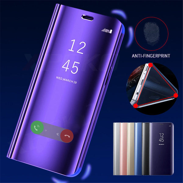 official photos d40d1 2d3be Smart View Case Flip Stand Cover For Xiaomi Redmi 6 6A 4X 5 Mirror Case  (Buy 2 get 15% Off)