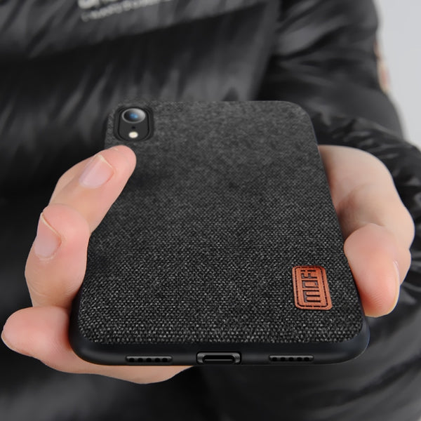 iphone xs fabric case