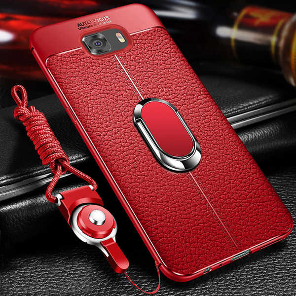 Luxury Soft Silicone Leather Case with Magnetic Car Holder for Samsung Galaxy S8 S9+S7 Edge Note 8/9 (Buy 2 Get Extra 15% Off )
