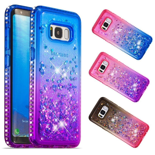 get cheap cdfbf 4ae90 Luxury Gradient Color Bling Quicksand Phone Case For Samsung Galaxy S8 S9  Note9 (Buy 2 Get Extra 15% Off)