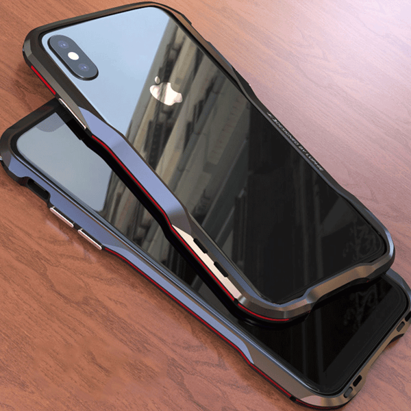 free shipping 5bfb5 6c1f1 Luxury 360° Protective Bumper Metal Armor Case for iPhone X XS Max XR (Buy  2 Get Extra 15% Off)