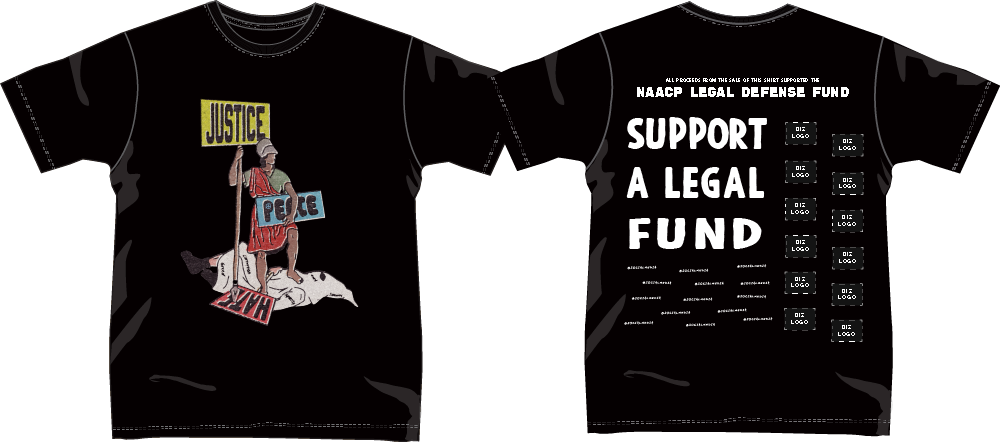 Seven Sharks NAACP LEGAL FUND TEE Proposal
