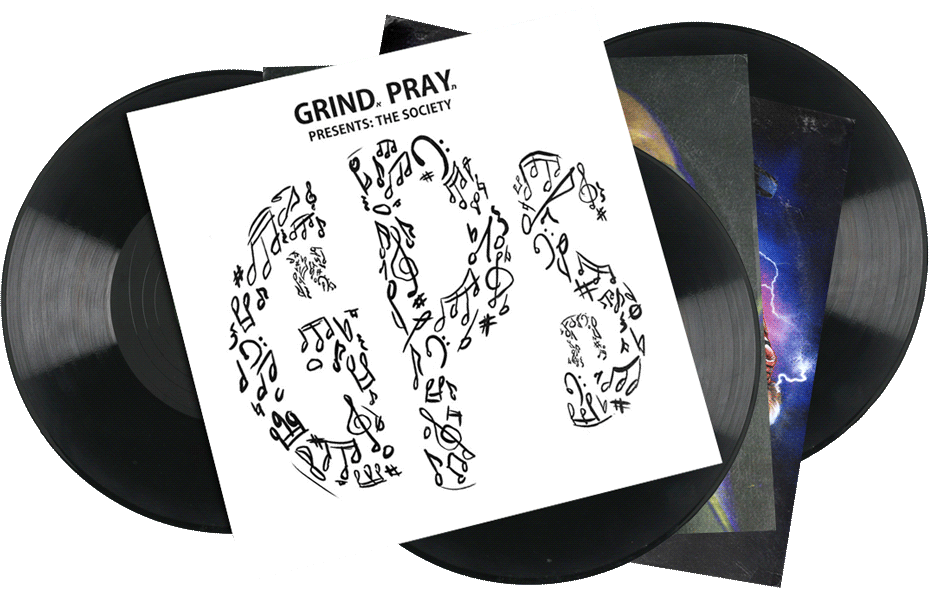 Seven Sharks Airwave - Grind Pray Society - Prsents: The Society - Hip-hop Compilation Album