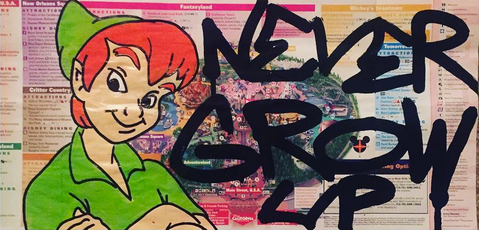 Marly Mcfly Virginia Street Artist Peter Pan