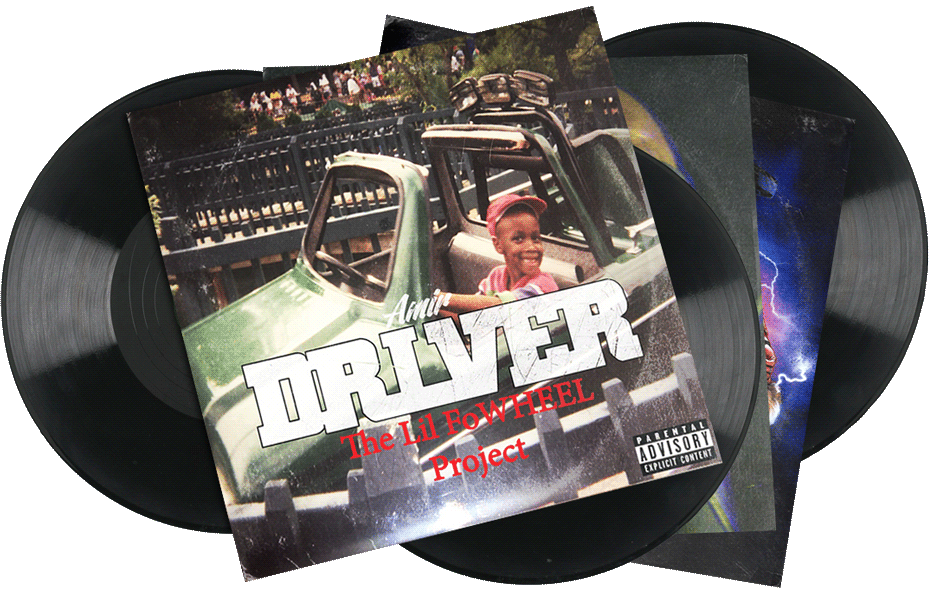 Seven Sharks Airwave - Amir Driver - The Lil FoWheel Project - Hip-hop Album