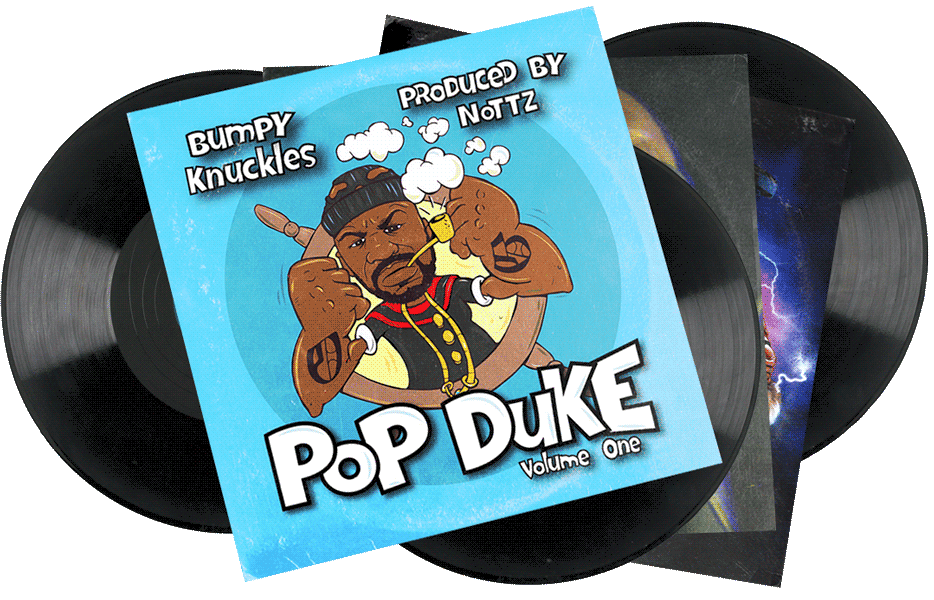 Seven Sharks Airwave - Bumpy Knuckles x Nottz - Pop Duke Vol. 1